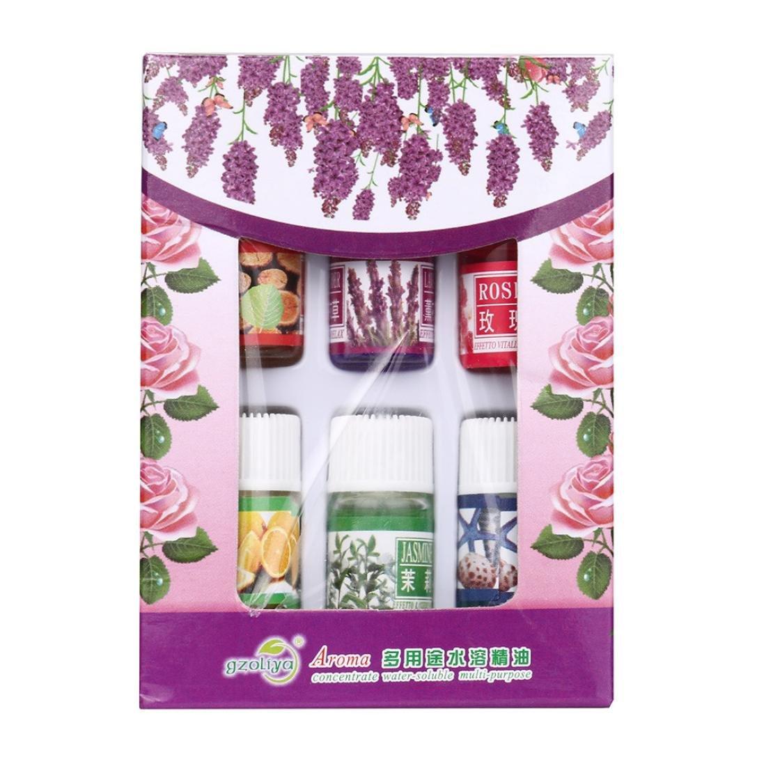 Sensail 3ml Huile Essentielle Naturel Pure Aromathérapie pour Bain Massage Beauté (12pcs)