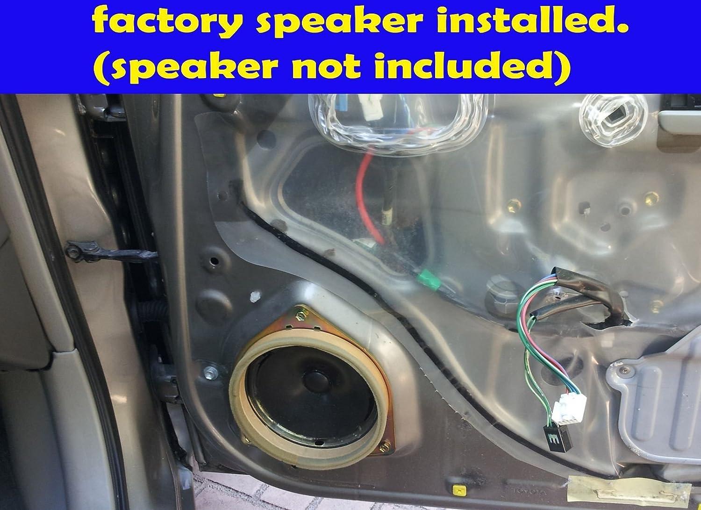 Amazon.com: Toyota 1997-2001 Camry Front Door Speaker Adapter Spacer Rings  - SAK019_55-1 Pair: Automotive