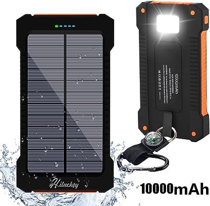 Chargeur Solaire Smartphone et Tablette double USB, 1 acheté