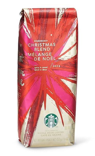 Amazon.com : 2016 Starbucks Xmas Blend Ground Coffee - 1 Pound ...