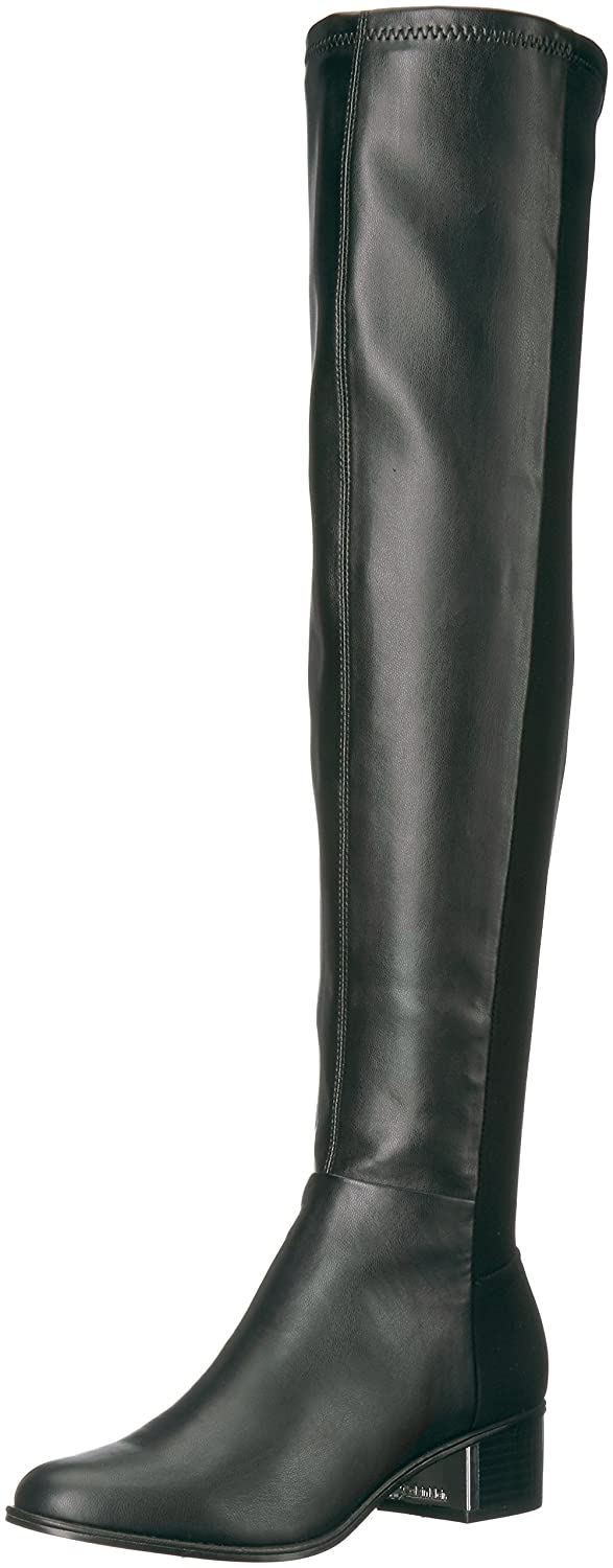 Calvin Klein Women's Carney Over The Knee Boot B073WN1GTD 5.5 B(M) US|Black Stretch
