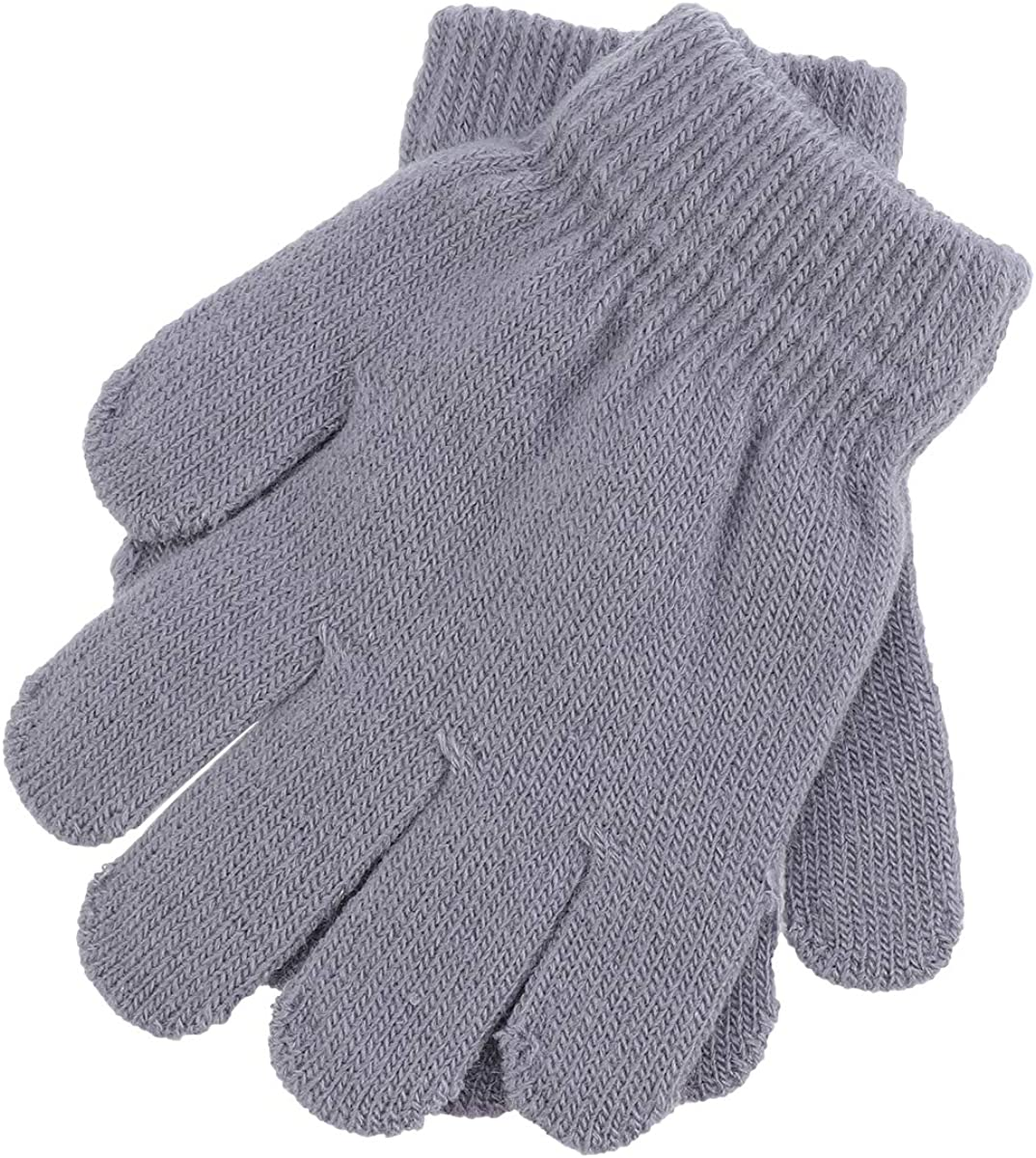 Kinderhandschuh Verdickte Strickhandschuhe Winterhandschuhe Warme Handschuhe f/ür 1-3 Jahre Junge M/ädchen Drau/ßen QKURT 3 Paare Kleinkind Stretch-F/äustlinge