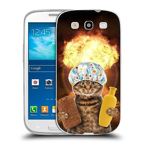Grand Phone Cases TPU Gel Funda Carcasa Tapa Case Cover para // Q05610643 Gato baño