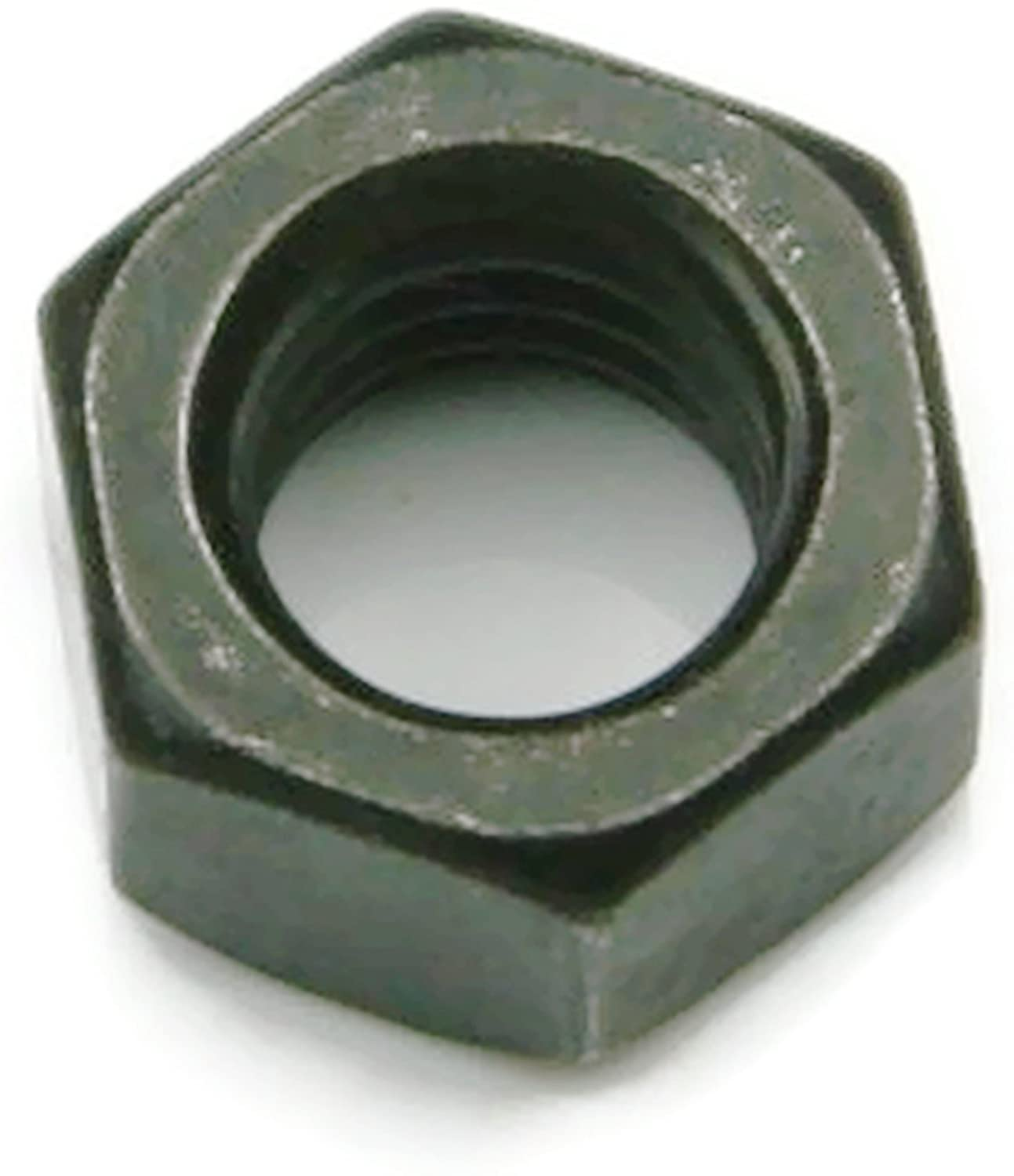 - Qty 25 7//16 Flats x 7//32 Thick 1//4-20 18-8 Stainless Steel Black Oxide Finish Hex Nuts