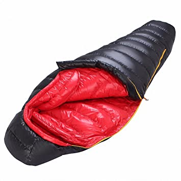 zhudj saco de dormir, otoño invierno al aire libre Camping, adulto abajo saco de