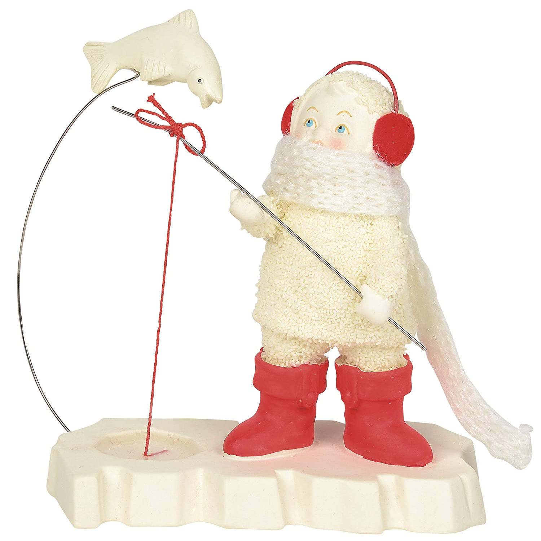 5 Inch Department 56 Snowbabies Classics Close But No Catch Figurine Multicolor