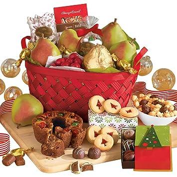 Amazon.com : Harry & David Christmas Gift Basket Classic : Gourmet ...