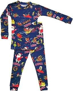 product image for Books to Bed Boys Pajamas 12 Sleighs of Christmas Pajama and Book Set