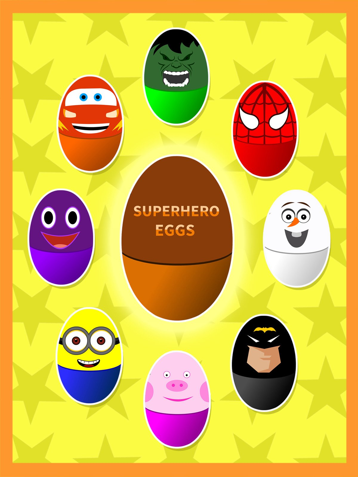 Learn Colors With Superhero Surprise Eggs on Amazon Prime Video UK