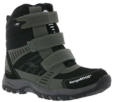 wähle spätestens schöner Stil Super Rabatt KangaROOS Barry-High Kids Winter Boots Gray with ROOSTEX ...