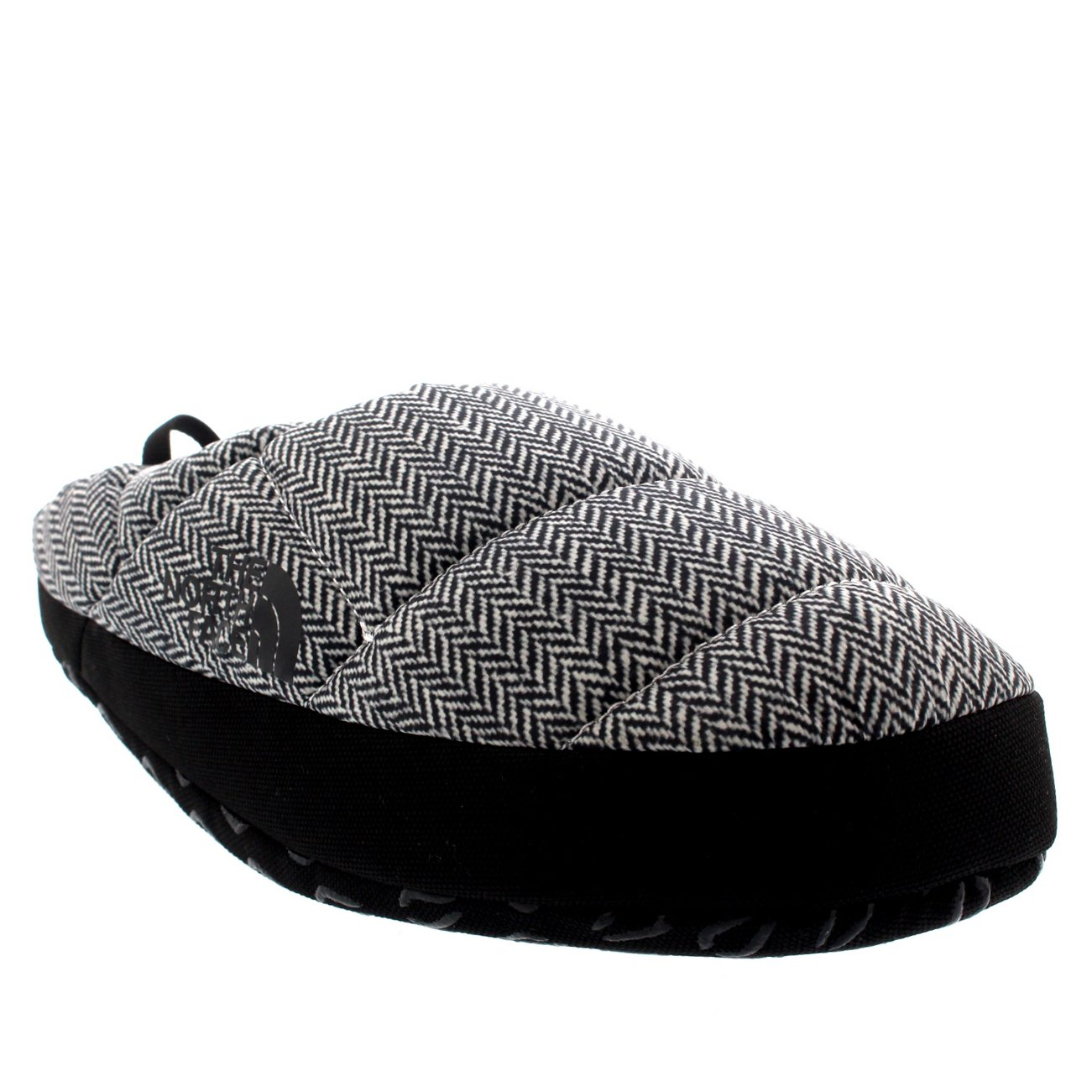 The North Face Mens NSE Tent Mule III Thermal Warm Winter Mule Slippers - Black/White - 8-9.5 by The North Face (Image #3)