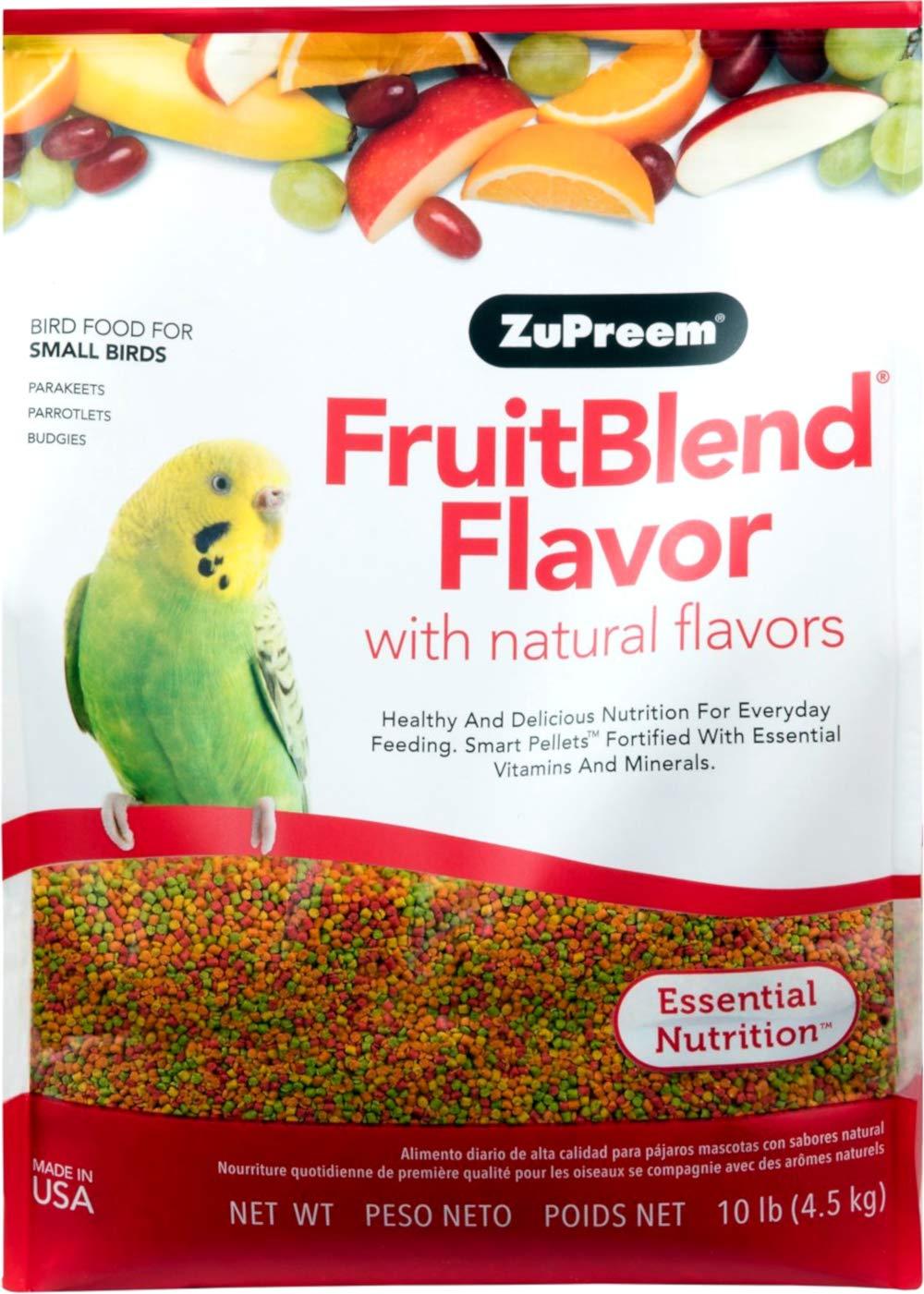 Zupreem Multifrutas Periquitos 45 Kg