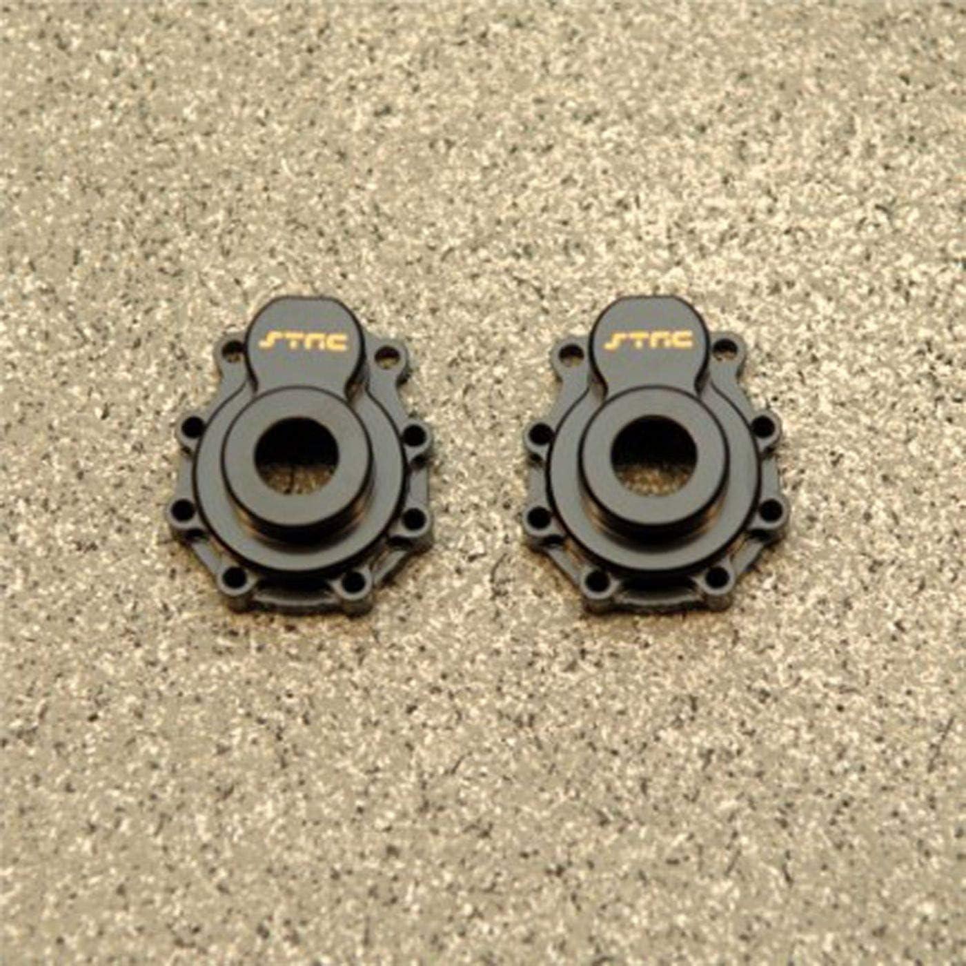 ST Racing ST8232BR Traxxas TRX-4 Brass Front Caster Blocks Black 2