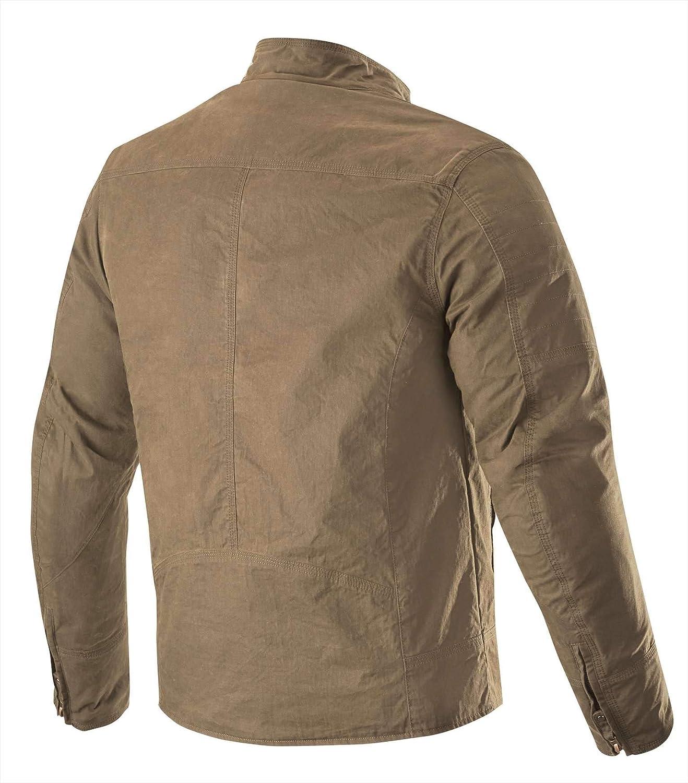 Motorcycle jackets Alpinestars Ray Canvas V2 Jacket Dark Khaki S Beige