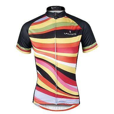 ILPALADINO Women s Cycling Jersey Short Sleeve Biking Shirts Breathable  Colorful ... 6cfd91053
