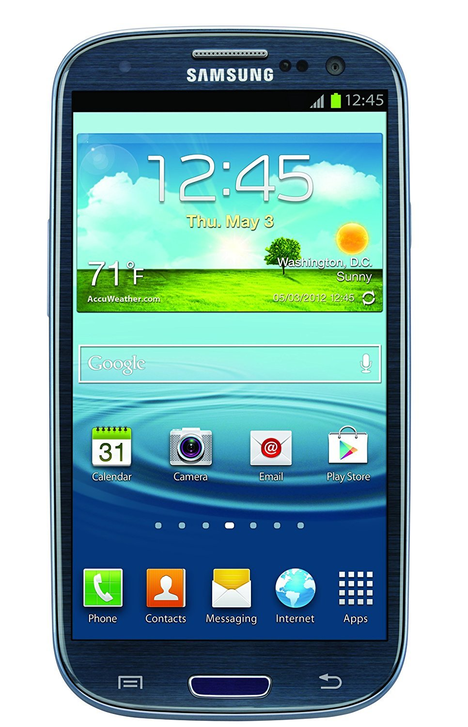 samsung galaxy s iii sgh i747 16gb gsm unlocked lte android smartphone blue amazon. Black Bedroom Furniture Sets. Home Design Ideas
