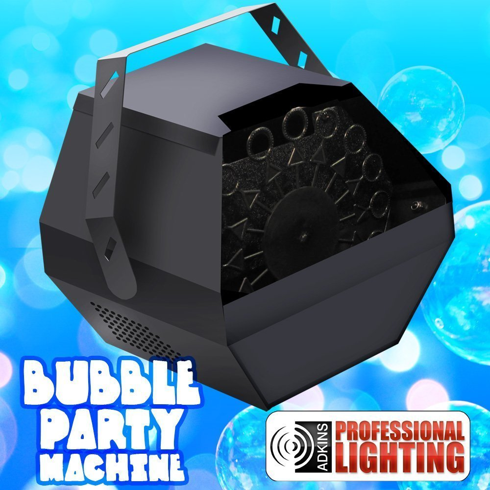 Perfect solution for anyone that wants to create a fun effect on stage or at a party. Party Bubble Machine Heavy Duty