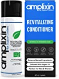 Amplixin Revitalising Argan Oil Conditioner - Hair Regrowth Deep Conditioning Treatment For Men & Women - Sulphate Free Prevention Formula Against Hair Loss, Alopecia & Receding Hairline, 240ml