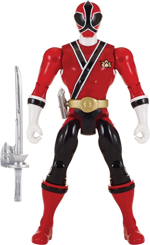 Power Rangers Super Megaforce - Samurai Red Ranger Action Hero, 5-Inch 71RCvgeX8jL