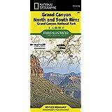 261- Grand Canyon: Bright Angel Canyon, North and South Rims- AZ (Ti - National Parks)