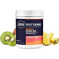 GU Energy Roctane Ultra Endurance Energy Drink Mix, Tropical Fruit, 1.72-Pound Canister
