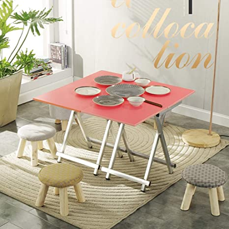 Amazon.com: Mesa de escritorio plegable para el hogar, mesa ...