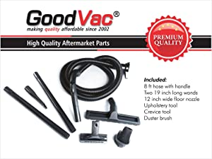 GOODVAC Attachment Set Compatible with All Kirby Vacuum Cleaners from G5 to Avalir 2