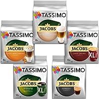 Tassimo 缤纷装--5种不同的包装咖啡饮品,咖啡碟(1 x 927 克)