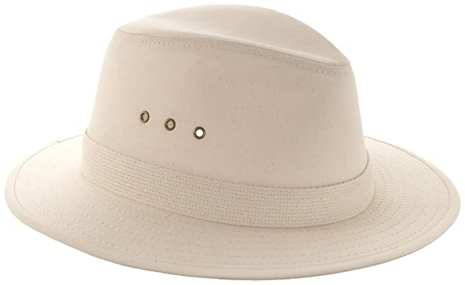 Panama Jack Men s Canvas Safari Hat fa70cb07fbee