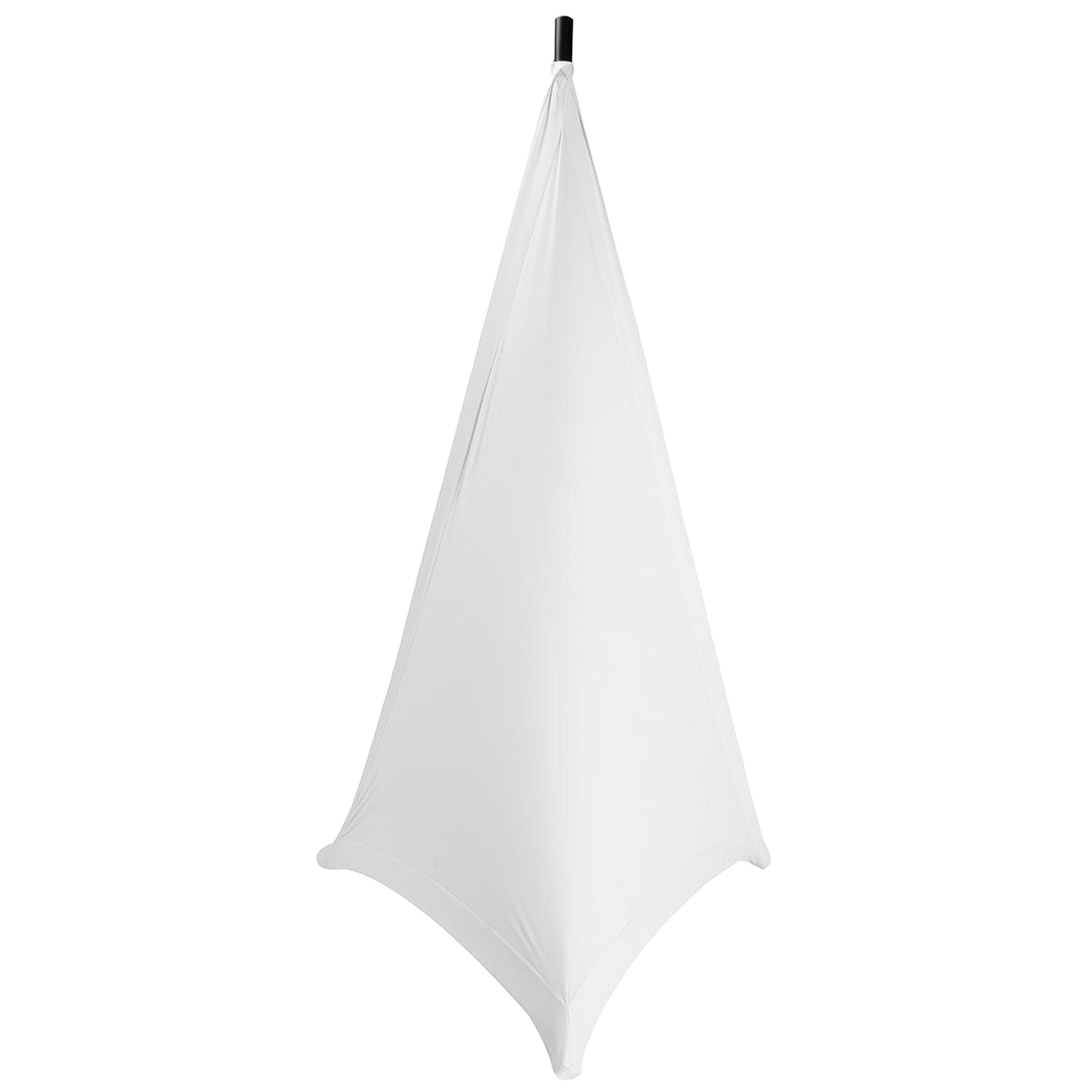 On-Stage SSA100W Speaker/Lighting Stand Skirt, White