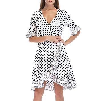 Winwintom Mujer Vestidos,Vestido De Cintura Alta Sexy Mujer Baratos,Vestido De Coctel Del