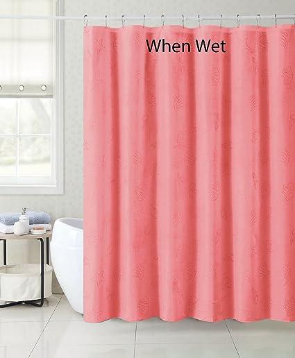 Amazon Magic Fabric Shower Curtain Liner Nautical Design