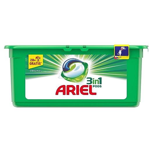Ariel Regular Detergente en Cápsulas - 31 Lavados: Amazon.es ...