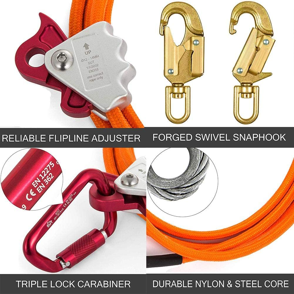 Cuerda de escalada de alta calidad, núcleo de alambre de ...