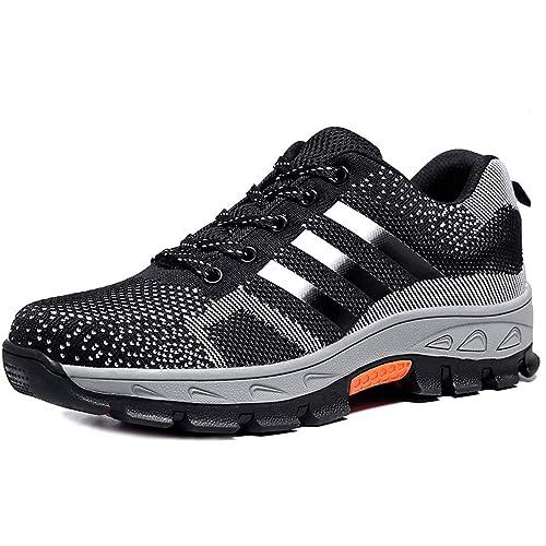 Zapatillas de Seguridad para Hombre Trabajo para Calzado Antideslizante de Ligeras Senderismo con Comodas de Mujer