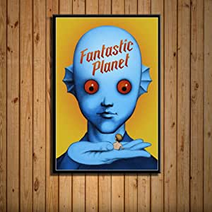 DSFJK Carteles de Ciencia ficción clásica película Arte