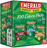 Emerald Nuts Variety Pack, 100 Calorie Almonds, Walnuts, Cashews, 65 Count Total (.Variety Pack - 65 Count Total)