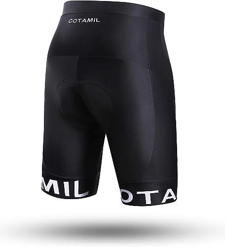 Cotamil Max Road Kounga Uomo Pantaloncini da Ciclismo Imbottiti