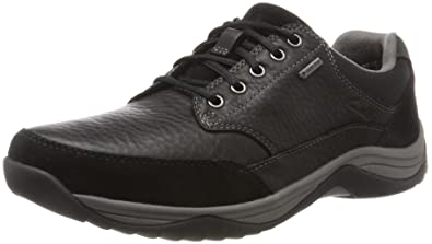 0362684dd88ae Clarks Men s s Baystonego GTX Brogues  Amazon.co.uk  Shoes   Bags