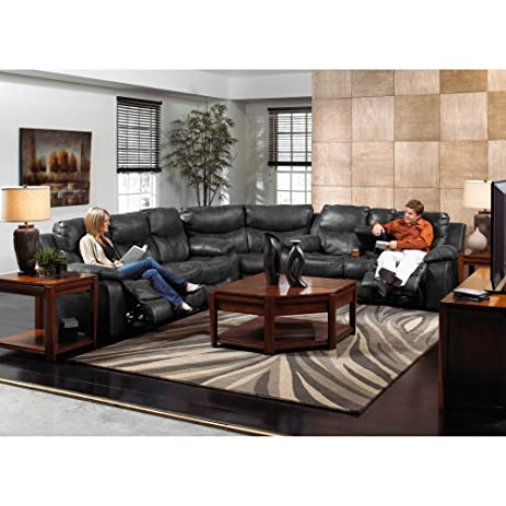 Catnapper Catalina Leather Reclining Sectional -  sc 1 st  Amazon.com : leather reclining sectionals - Sectionals, Sofas & Couches