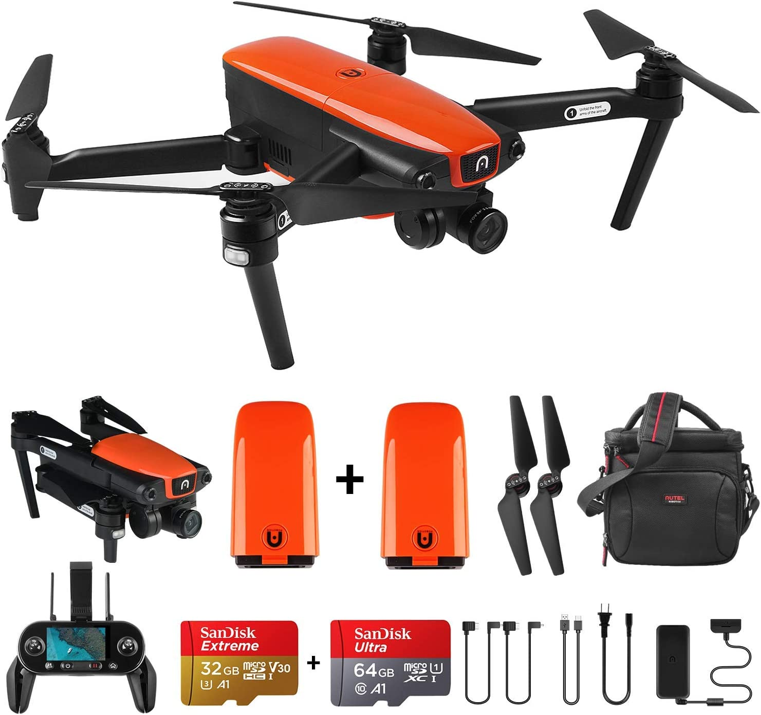 Autel Robotics EVO Foldable Drone with Camera
