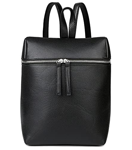 Amazon.com: Black Mini Leather Backpack Purse for Women Fashion ...