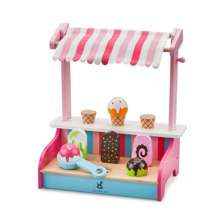 Eisdiele Spielzeug - New Classic Toys Eiscreme Shop - Kaufladen Eis
