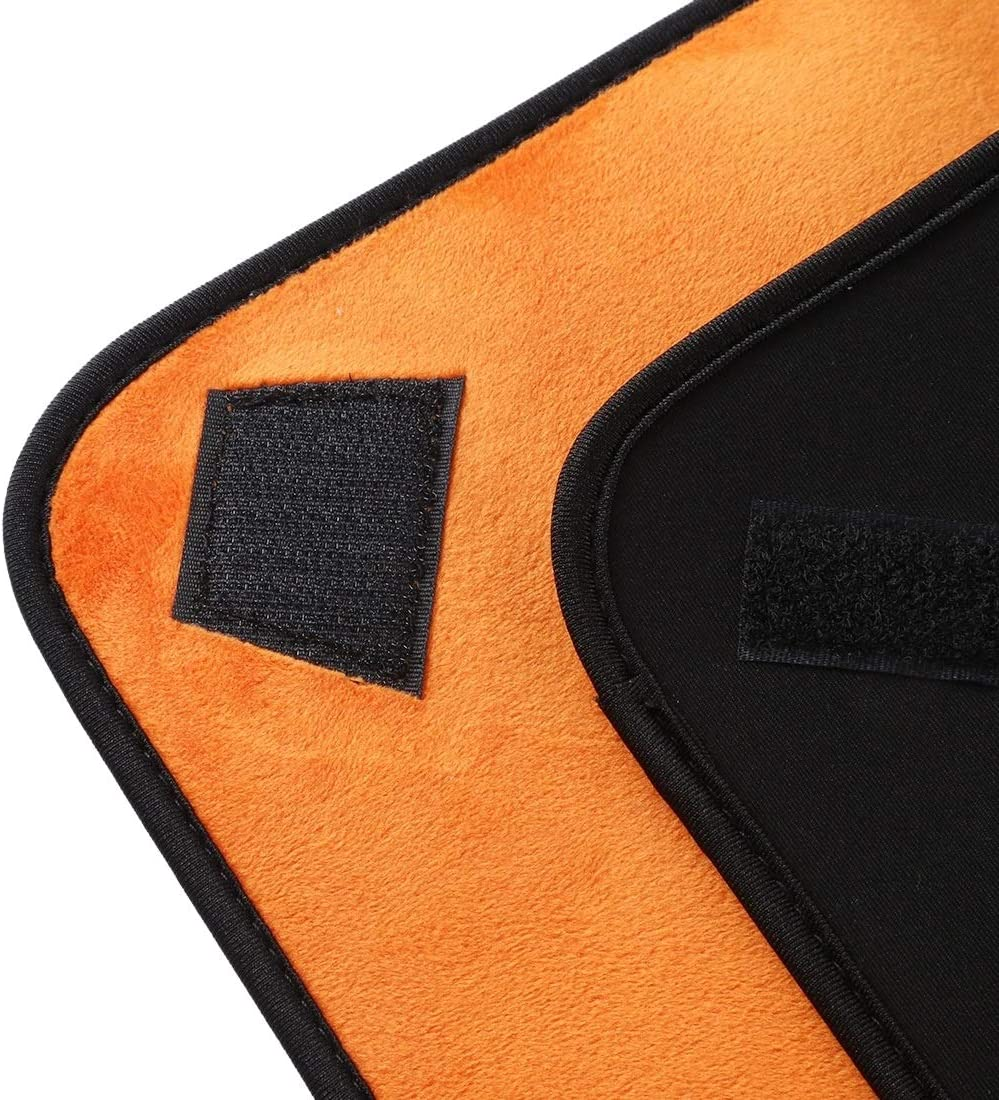 Lens Hood Hundred-Folding Cloth Photography Camera SLR Liner Lens Bag Thickening Wrapped Cloth Plus Velvet ,Easy to use and Easy to Carry Color : Orange Size: 55x55cm Orange