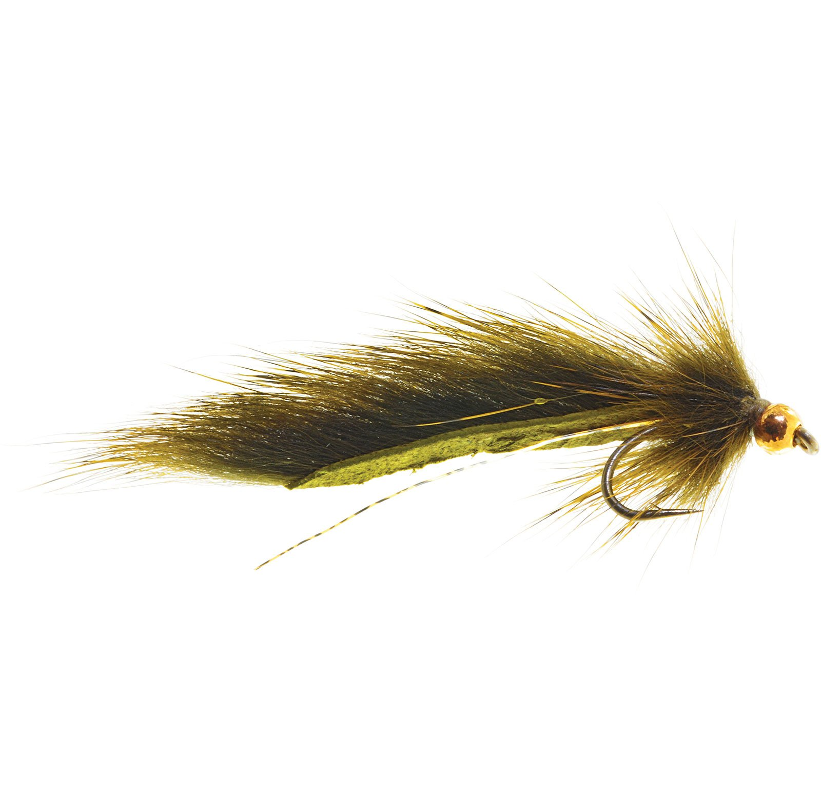Umpqua Pine Squirrel Leech Olive 12 12 Pack
