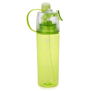 7465f300c607 HOMIU Water Bottle, Sports Spray Drinking Bottle Portable - Large Capacity  - Mist Cooling Bottle for Bike Bottle Cage for Cycling, Hiking, Running, ...