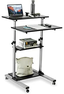 Amazoncom SDADI 2 Inches Carpet Wheel Mobile Stand Up Desk