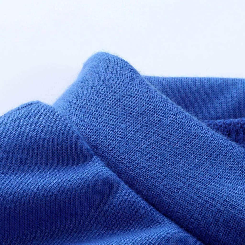 l/ässiges T-Shirt Rundkragen Pullover Viahwyt Damen Sweatshirt mit s/ü/ßem Katzen-Print lang/ärmelig