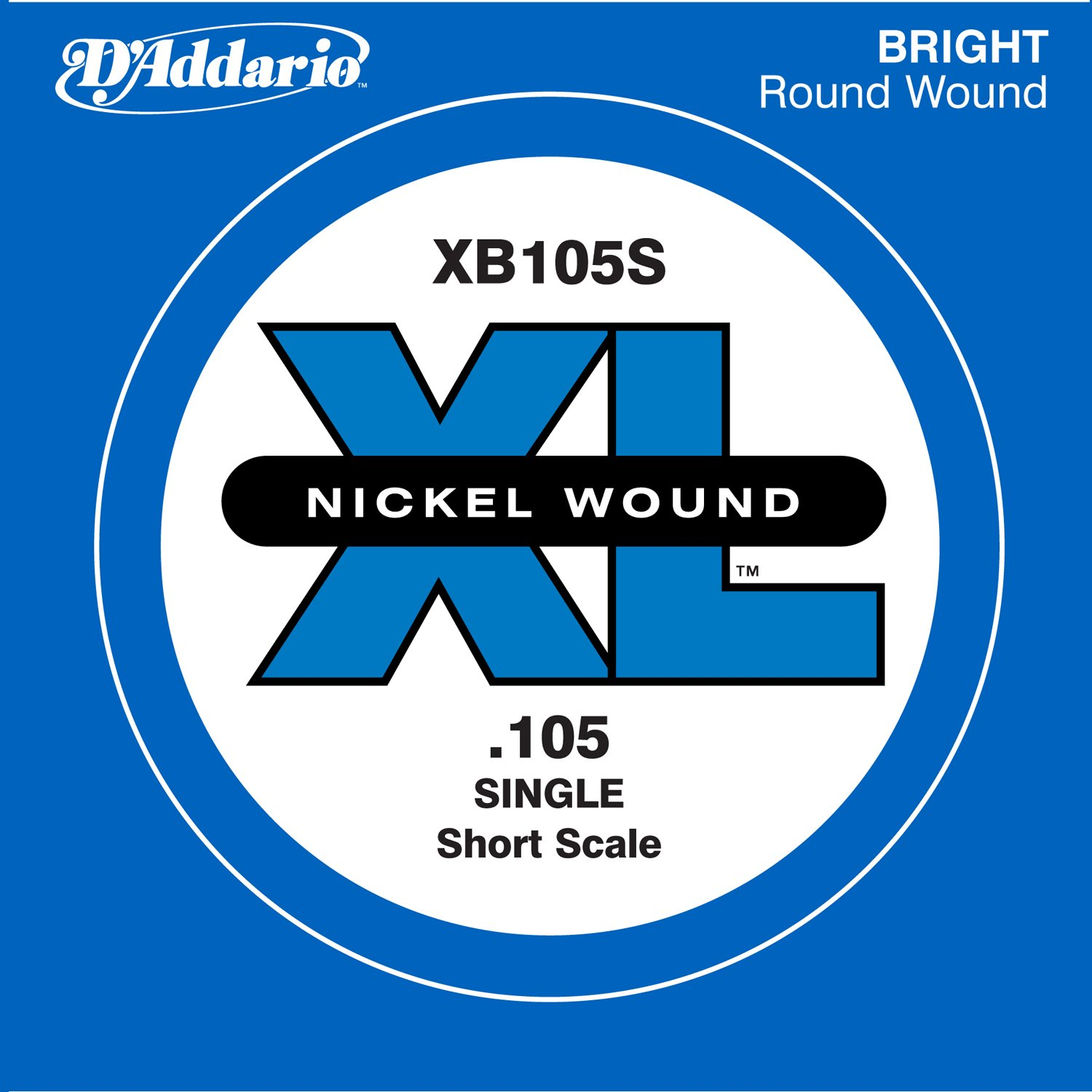 D'Addario Single Bass Xl 100 Short D'Addario &Co. Inc XB100S
