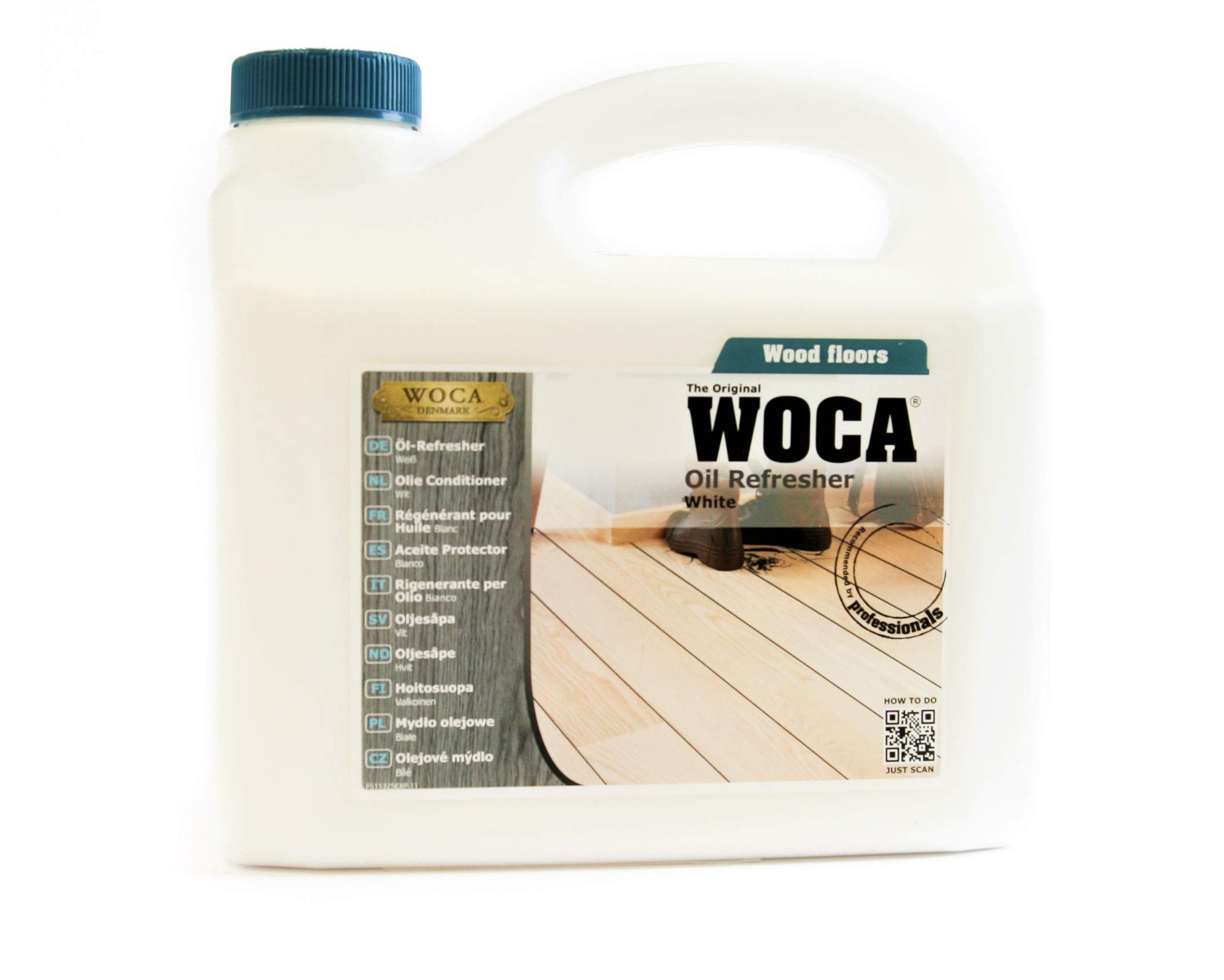 Woca Denmark the Original Oil Refresher White 2.5 liter by Woca Denmark